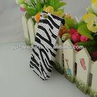 YPAC-B561 Black/White Flat Bling Zebra Case For iPhone 5