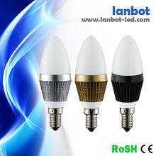 egg shell 3w e14 led lighting 3w led candle lamp