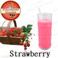poudre de saveur de fraise