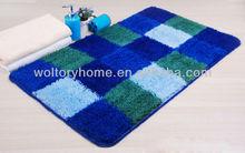 Tufted Acrylic checks Toilet door Mat/bath rug carpet