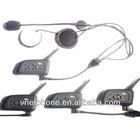 Real 4 way walkie Talkie/4 Football referee intercom/ BT Interphone 1200meters Bluetooth Motorcycle Communication Bt Interphone