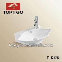 Leaf shape small hand wash basin T-K175