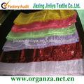 Cubierta de la silla de organza sash para la boda, la decoración del partido, fuera de la decoración