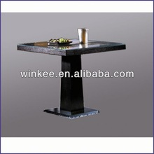 popular wrought iron dining table and chair
