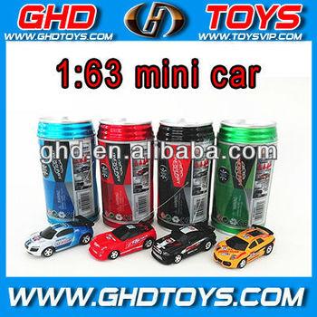 1:63 Coke can mini remote control car 4 mixed colors wholesale