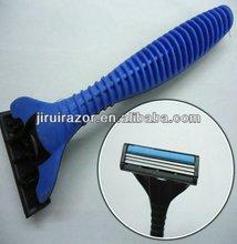 Triple Blades;Razor Shaving;Disposable Razor with lubricate stripe