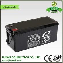 2015 hot selling solar batteries: sealed 12v 200ah agm deep cycle battery