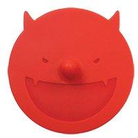 Devil anti-slip coffee silicone cup lid
