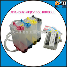 New ciss for hp 950 951 CISS for hp 8100 8600 officejet with latest auto reset chip and cleaning print head function
