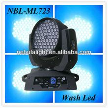 Stage light led moving head wash 72*3W,LED STAGE LIGHTING