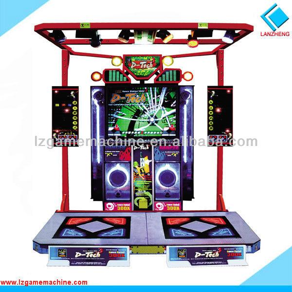การขายอิเล็กทรอนิกส์ร้อนสวนสนุกจำลองเครื่องเกมเต้นเพลง, เครื่องวิดีโอเกม