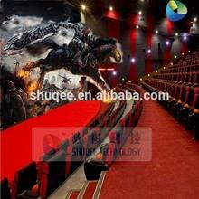 Reliable quality 4D motion movie platform 4D special effect cinema