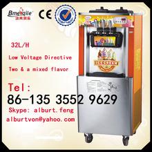 32L Floor stand 3-head soft ice cream machine maker
