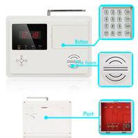 120 zone clock display Wireless PSTN alarm system/wireless home perimeter alarm system/voice activated alarm(KR-5120)