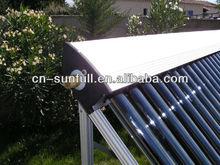 EN12975, Solar Keymark, SRCC Heat Pipe Vacuum Tube Solar Collector