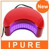 iPure ABS material moon led uv nail lamp