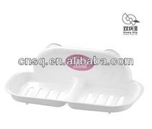 plastic suction soap holder clear plastic wash basin soap dish