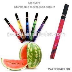 China supplier wholesale 500 puffs big vapor e hookah pen.Cheap e hookah shisha pen with many good flavors.