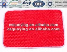 100% polyester adult floor mat ,room non-slip pad,3D outdoor floor mat