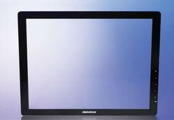 LCD/LED display glass, TV screen glass, anti reflective/anti reflection glass monitor