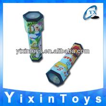 Promotional gift plastic wholesale kaleidoscope OEM 16cm