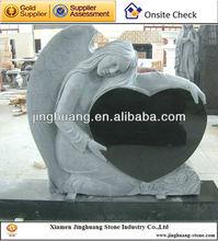 cheap Granite Headstones/Monument Black Tombstone