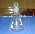 de vidrio de cuarzo matraz de yodo