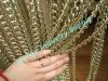 decorative metal door curtain for summer hanging