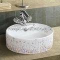 Flor bacia banheiro pia do banheiro vaidade a8034-5