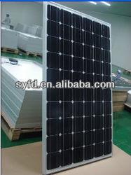 Good Quatliy/High efficiency mono 250W/260W Solar panel(TUV,ISO,MCS)