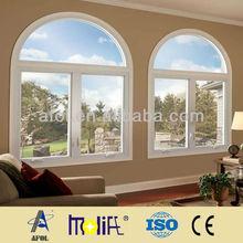 RAL Color Standard American Market Outcrank Casement vinyl Window