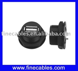 Male or female industry circular waterproof connector