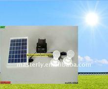 5W Mini Solar Light Kits