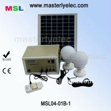 10W Portable Solar Emergency Standby Light