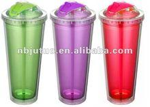 16oz Travel Mug with food grade sliding lid for leak proof