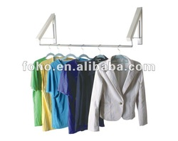 Hidden type multifunctional clothes hangers