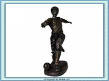 Resin Sculptrue Craft/Sport Figure/Football Player Toy
