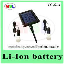 2W 2AH Solar Powered Electric Lights MSL05-02C