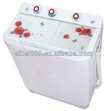 Two tub half automatic washing machine