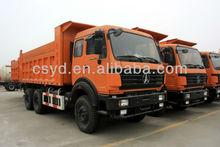 BEIBEN North Benz 10 wheels 6x4 dump truck