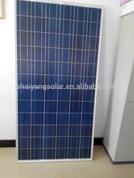 250w poly solar panel