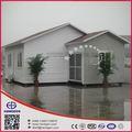 48 SQM luz marco de acero prefabricada armazón de la casa y prefabricados Villa