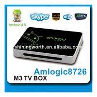 Smart TV Box, New DVB-T Set Top Box with Android 4.0,HD DVB-T Box(full 1080p,3D graphic)