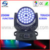 36 x 10w 4in1 RGBW DMX wash led moving head zoom