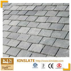 ASTM approved chiseled etat grey stone slate roof tile