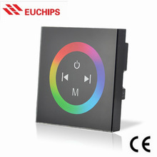 4A*3 Channel 288W LED Full-color Wall Dimmer with Touch Panel