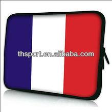 Flag neoprene computer bags laptop sleeve case