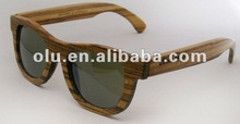 handcrafted wooden and bamboo sunglasses