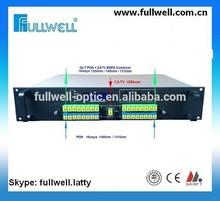16 PON &CATV Combiner, PON EDFA, WDM EDFA Combiner factory
