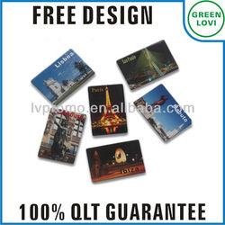 Free design Japan quality standard souvenir fridge magnet